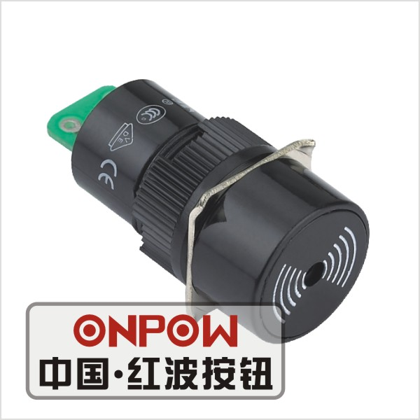 ONPOW Round Flash buzzer16mm flash buzzer